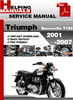 Thumbnail Triumph Bonneville T100 2001-2007 Service Repair Manual Down