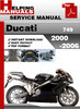 Ducati 749 2000-2006 Service Repair Manual Download